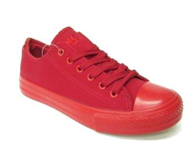 Czerwone trampki DK TR10439-2