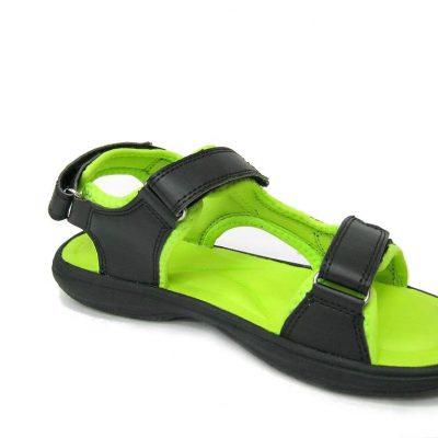 Sandały DK HF08, kolor czarno/zielony