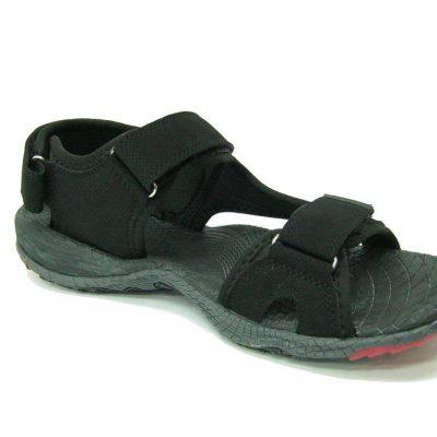 Sandały DK HF05, kolor czarny/czerwony