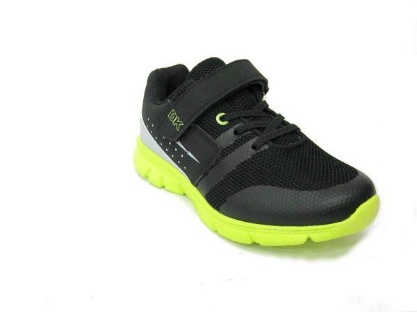 Dziecięce buty DK 14242 czarny z zielonym