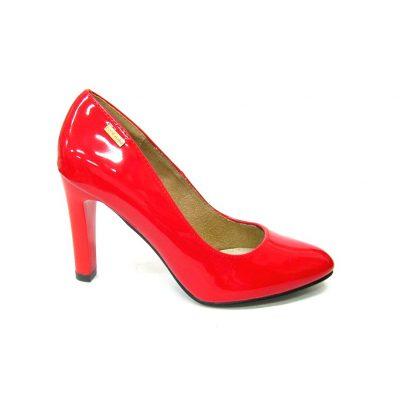 Czerwone czółenka damskie Goodin