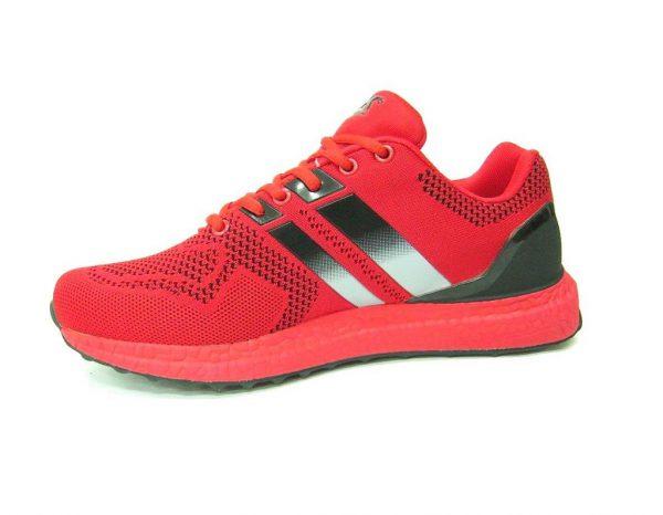 Czerwone buty sportowe DK 1200