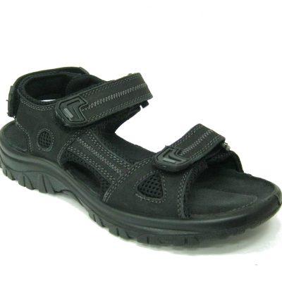 Męskie buty sandały Marco Tozzi, kolor czarny