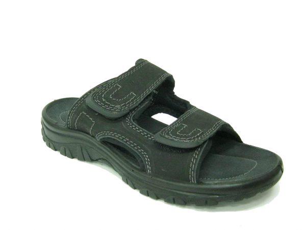 Męskie buty klapki Marco Tozzi, kolor czarny