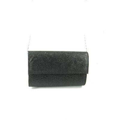 Kopertówka damska czarna aspent