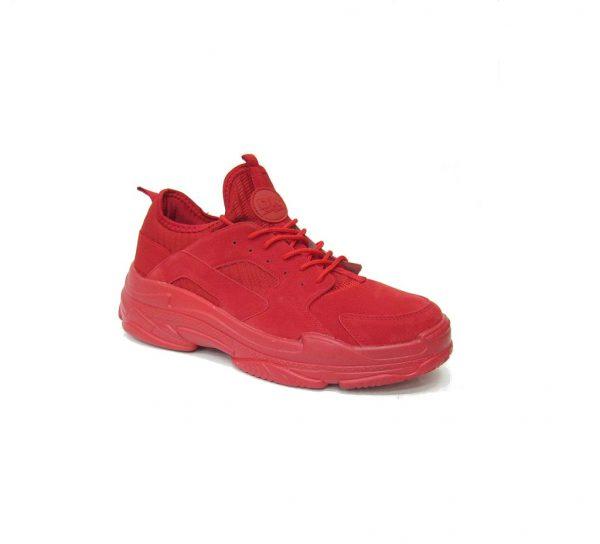 Czerwone sportowe buty DK