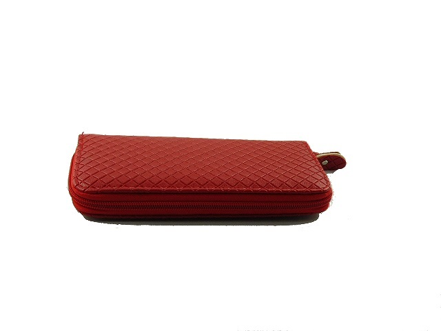 373e612a4ce5e Czerwony pikowany portfel damski - Modne dodatki w niskej cenie