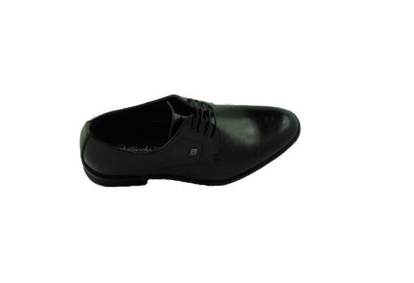 Eleganckie czarne pantofle Skotnicki