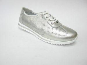 DK buty damskie - srebrne