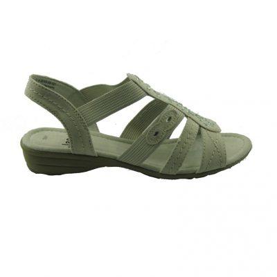 Białe sandałki Jana