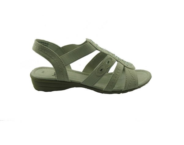 Szare sandałki Jana