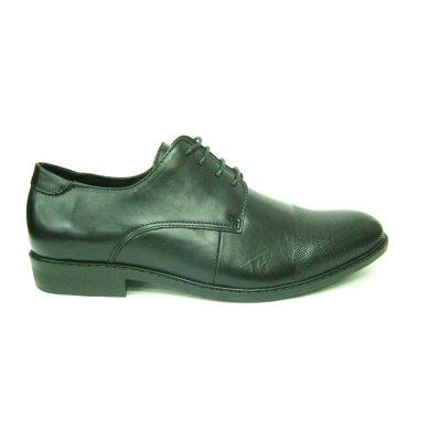 Czarne pantofle Sokolski