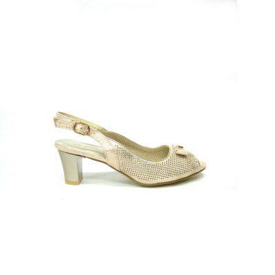 Złote sandały Wishot