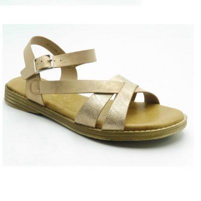 Sandały damskie BZ1813RR1 nude
